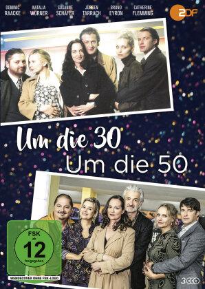 Um die 30 / Um die 50 (3 DVDs)