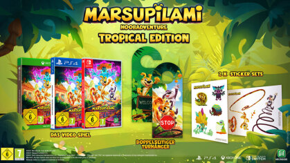 Marsupilami - Hoobadventure (Tropical Edition)