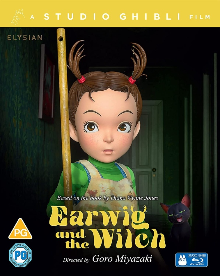 Earwig And The Witch (2020) (Limited Collector's Edition, Blu-ray + DVD)