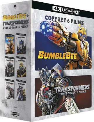 Transformers - L'intégrale 5 films + Bumblebee (Nouvelle Edition, 6 4K Ultra HDs)