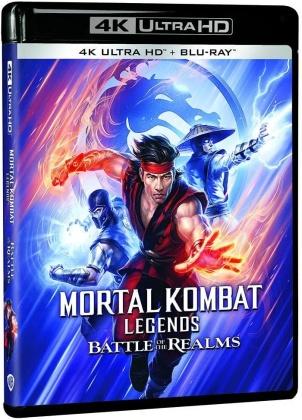 Mortal Kombat Legends - Battle of the Realms (2021) (4K Ultra HD + Blu-ray)