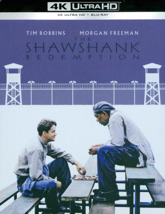 The Shawshank Redemption - Les Évadés (1995) (Édition Limitée, Steelbook, 4K Ultra HD + Blu-ray)