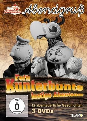 Unser Sandmännchen - Abendgruss - Feffi Kunterbunts lustige Abenteuer (3 DVDs)