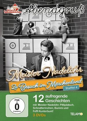 Unser Sandmännchen - Abendgruss - Zu Besuch im Märchenland - Staffel 4 (3 DVDs)