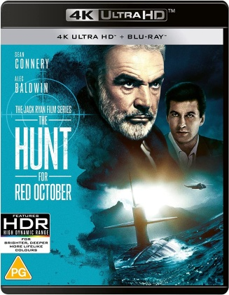 Hunt For Red October. The (1990) (4K Ultra HD + Blu-ray)