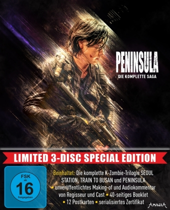 Peninsula - Die komplette Saga (Limited Special Edition, 3 Blu-rays)
