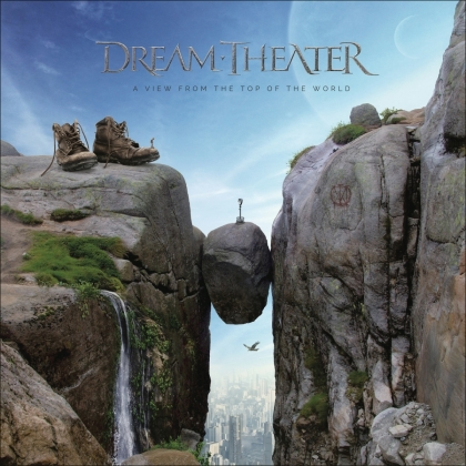 Dream Theater - A View From The Top Of The World (Boxset, Gatefold, Limited Edition, Bright Gold Vinyl, 2 LPs + 2 CDs + Blu-ray)