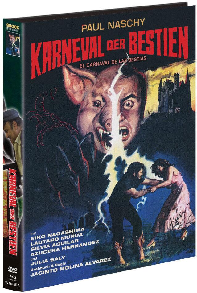 Karneval der Bestien (1980) (Cover A, Edizione Limitata, Mediabook, Blu-ray + DVD)