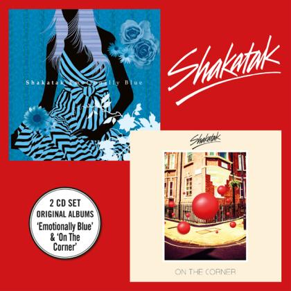 Shakatak - Emotionaly Blue + On The Corner (2 CD)