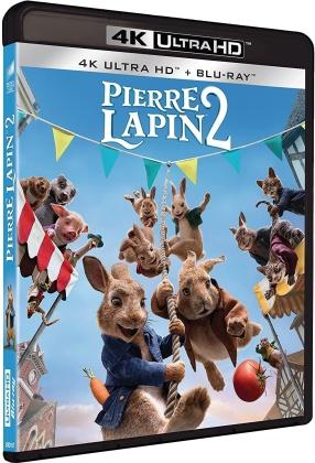 Pierre Lapin 2 - Panique en ville (2021) (4K Ultra HD + Blu-ray)