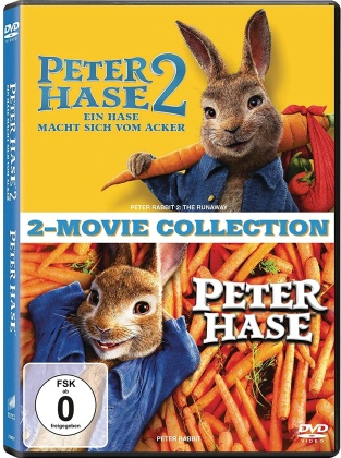 Peter Hase 1+2 - 2-Movie Collection (2 DVDs)