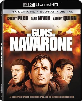 The Guns Of Navarone (1961) (4K Ultra HD + Blu-ray)