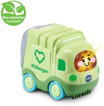Tut Tut Baby Flitzer - Müllwagen (aus bio-basiertem Kunststoff)