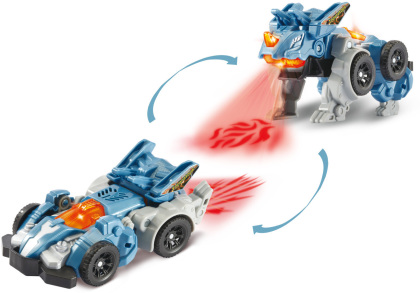 Switch & Go Dinos - Fire-Mini-Triceratops