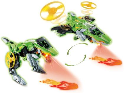 Switch & Go Dinos - Fire-Jet-Therizinosaurus