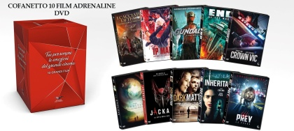 Cofanetto 10 Film Adrenaline (10 DVDs)