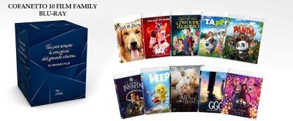 Cofanetto 10 Film Family (10 Blu-rays + 2 DVDs)