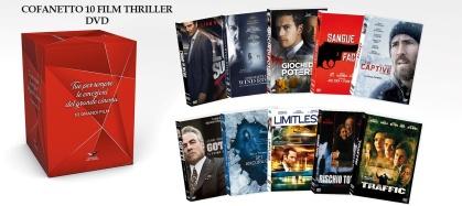 Cofanetto 10 Film Thriller (10 DVDs)