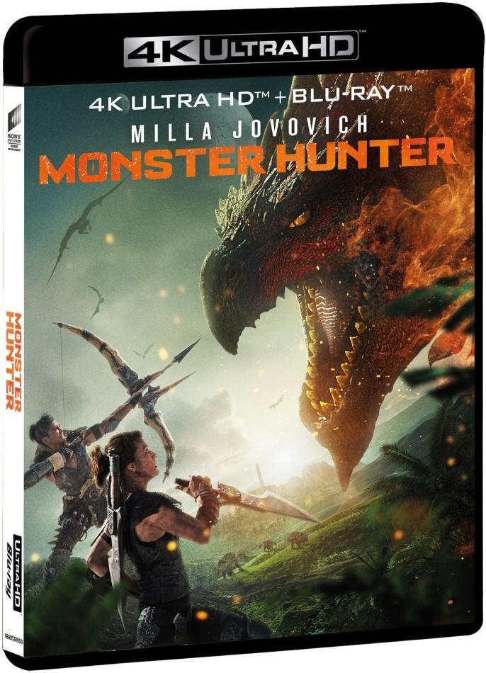 Monster Hunter (2020) (4K Ultra HD + Blu-ray)