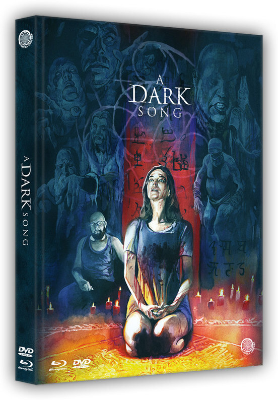 A Dark Song (2016) (Limited Edition, Mediabook, Uncut, Blu-ray + DVD)