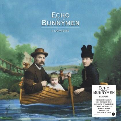 Echo & The Bunnymen - Flowers (2021 Reissue, Demon Records, White Vinyl, LP)