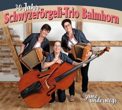 Schwyzerörgeli-Trio Balmhorn - 30 Jahre zämä underwegs