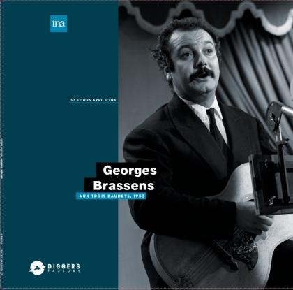 Georges Brassens - Aux Trois Baudets, 1953 (LP)