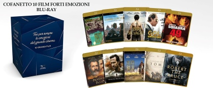 Cofanetto 10 Film Forti Emozioni (10 Blu-rays + DVD)
