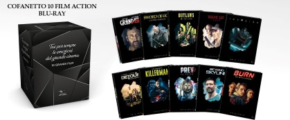Cofanetto 10 Film Originals Action (10 Blu-rays + 10 DVDs)