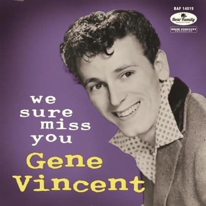 "Gene Vincent - We Sure Miss You (10"" Maxi + CD)"