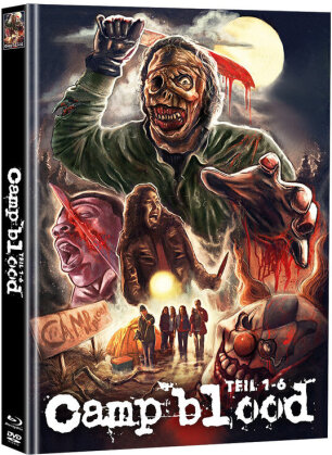 Camp blood - Teil 1-6 (Super Spooky Stories, Cover A, Limited Edition, Mediabook, Uncut, Blu-ray + 2 DVDs)