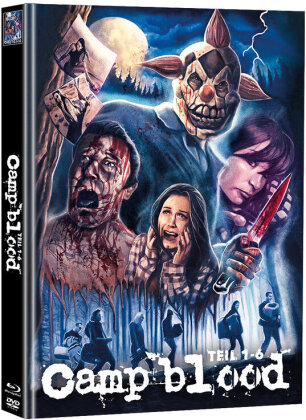 Camp blood - Teil 1-6 (Cover B, Super Spooky Stories, Limited Edition, Mediabook, Uncut, Blu-ray + 2 DVDs)