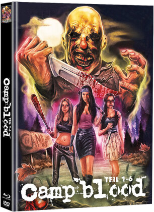 Camp blood - Teil 1-6 (Cover C, Super Spooky Stories, Limited Edition, Mediabook, Uncut, Blu-ray + 2 DVDs)