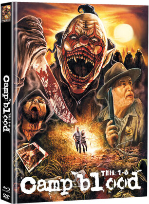 Camp blood - Teil 1-6 (Cover D, Super Spooky Stories, Limited Edition, Mediabook, Uncut, Blu-ray + 2 DVDs)