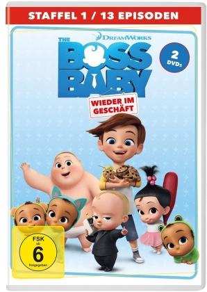 The Boss Baby - Wieder im Geschäft - Staffel 1 (2 DVDs)