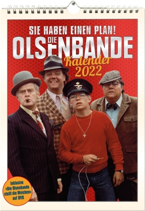 Die Olsenbande - Die Olsenbande stellt die Weichen + Kalender 2022