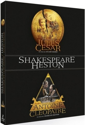 Jules César / Antoine et Cléopâtre - Shakespeare / Heston (2 Blu-rays)