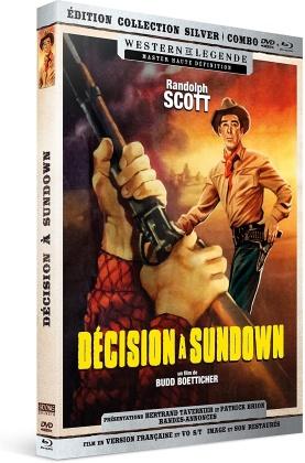 Décision à Sundown (1957) (Western de Légende, Silver Collection, Blu-ray + DVD)