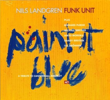 Nils Landgren - Paint It Blue (2021 Reissue, ACT, LP + Digital Copy)
