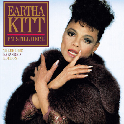Eartha Kitt - I'm Still Here/Live In London (Expanded Edition, 3 CDs)
