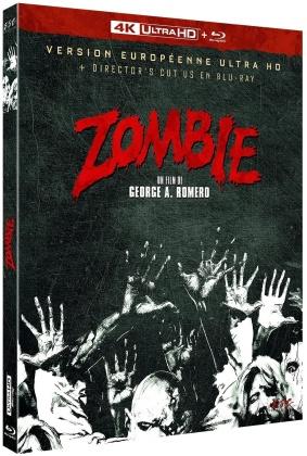 Zombie - Version Européenne Ultra + Director's Cut US en Blu-ray (1978) (4K Ultra HD + Blu-ray)