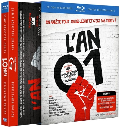 L'an 01 (1972) (Limited Collector's Edition, Remastered, 2 Blu-rays)