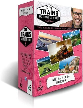 Des trains pas comme les autres - Saison 6 (5 DVD)