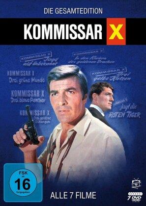 Kommissar X - Die Gesamtedition: Alle 7 Filme (Filmjuwelen, 7 DVDs)