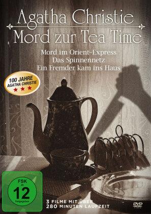 Agatha Christie - Mord zur Tea Time - Mord im Orient-Express / Das Spinnennetz / Ein Fremder kam ins Haus