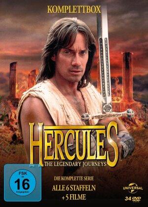 Hercules - The Legendary Journeys - Die komplette Serie (Fernsehjuwelen, 34 DVDs)