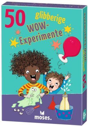 50 glibberige WOW-Experimente (Experimentierkasten)