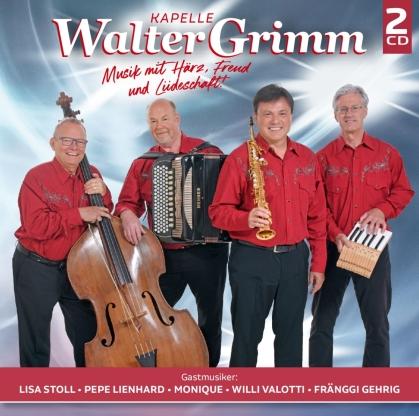 Kapelle Walter Grimm - Musik mit Härz, Freud und Liideschaft! (2 CD)