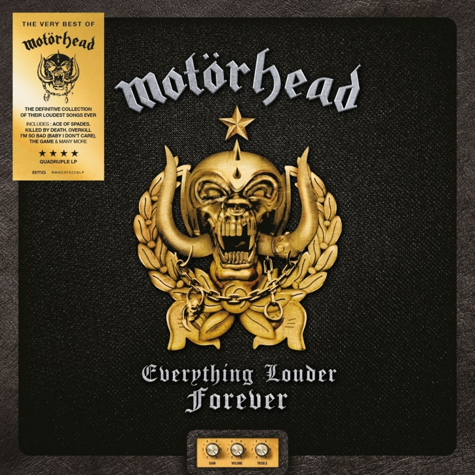 Motörhead - Everything Louder Forever - The Very Best Of (Deluxe Edition, 4 LPs)