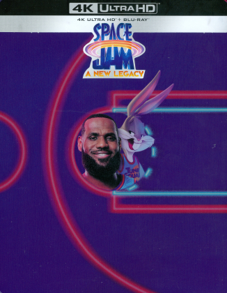 Space Jam 2 - Nouvelle ère (2021) (Limited Edition, Steelbook, Blu-ray + 4K Ultra HD)